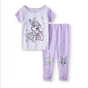 SALE 4/$30 NWT Disney Pajamas Bambi 2 piece set